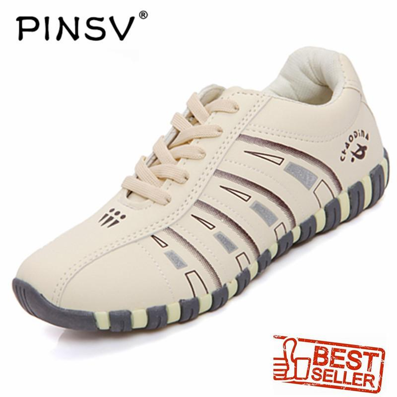 Pinsv Womens Sport&outdoor Shoes Badminton Shoes (beige) By Pinsv.