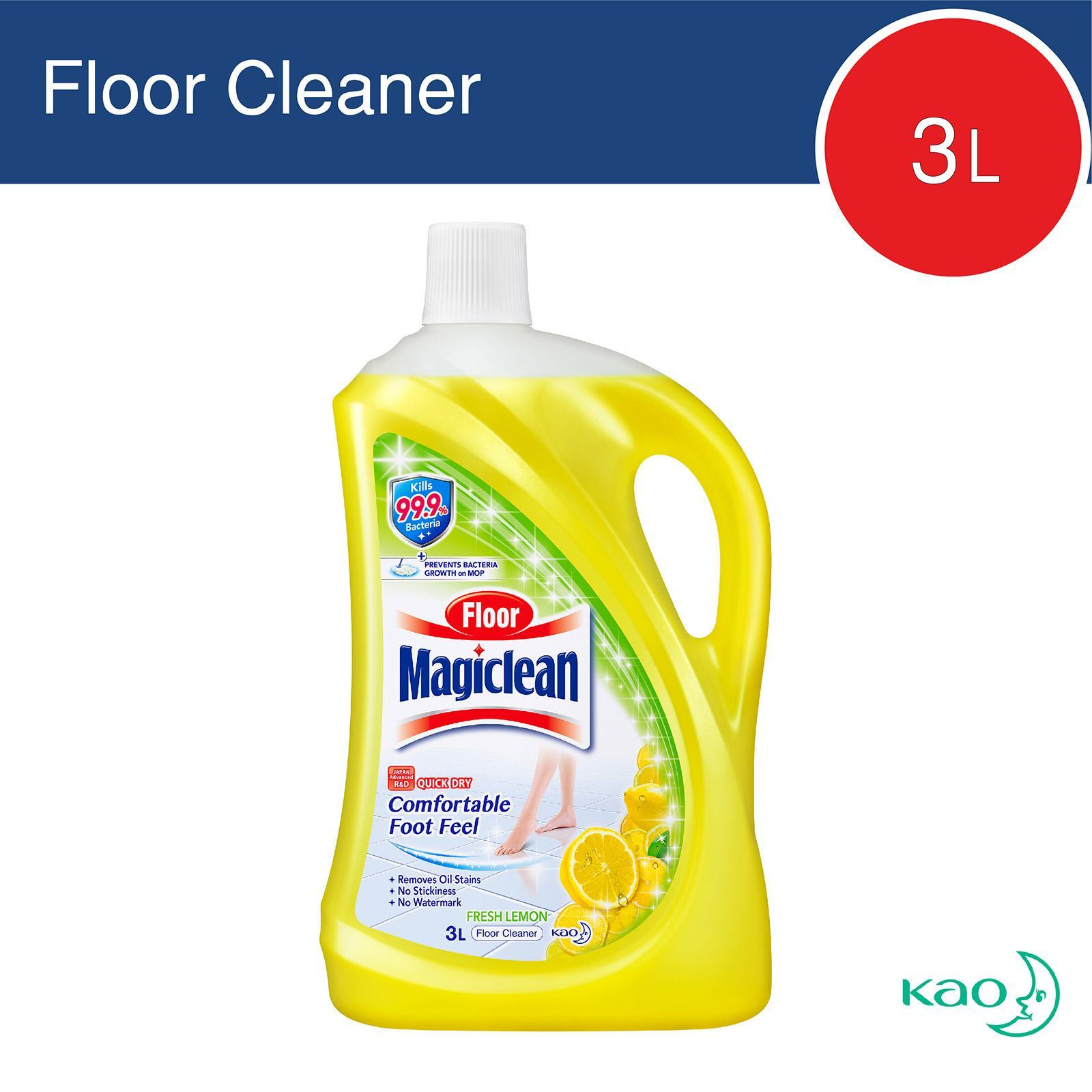Magiclean Fresh Lemon Floor Cleaner By Redmart.
