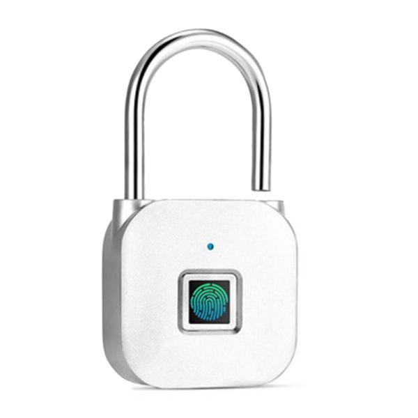 Portable Keyless Smart Padlock Anti-Theft Fingerprint Door Lock Security Cabinet Door Lock Electronic Non-Password Lock