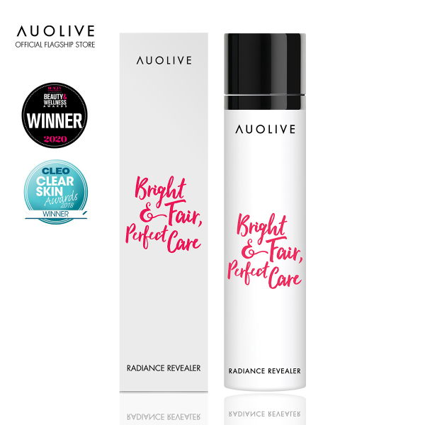 Buy Auolive Radiance Revealer - Superfruit Exfoliating Gel (Water-based, Gentle, Beadless Scrub/Exfoliator for Brighter, Radiant Skin. Refines Pores, Enhances Hydration and Absorption of Moisturiser and Mask) Singapore