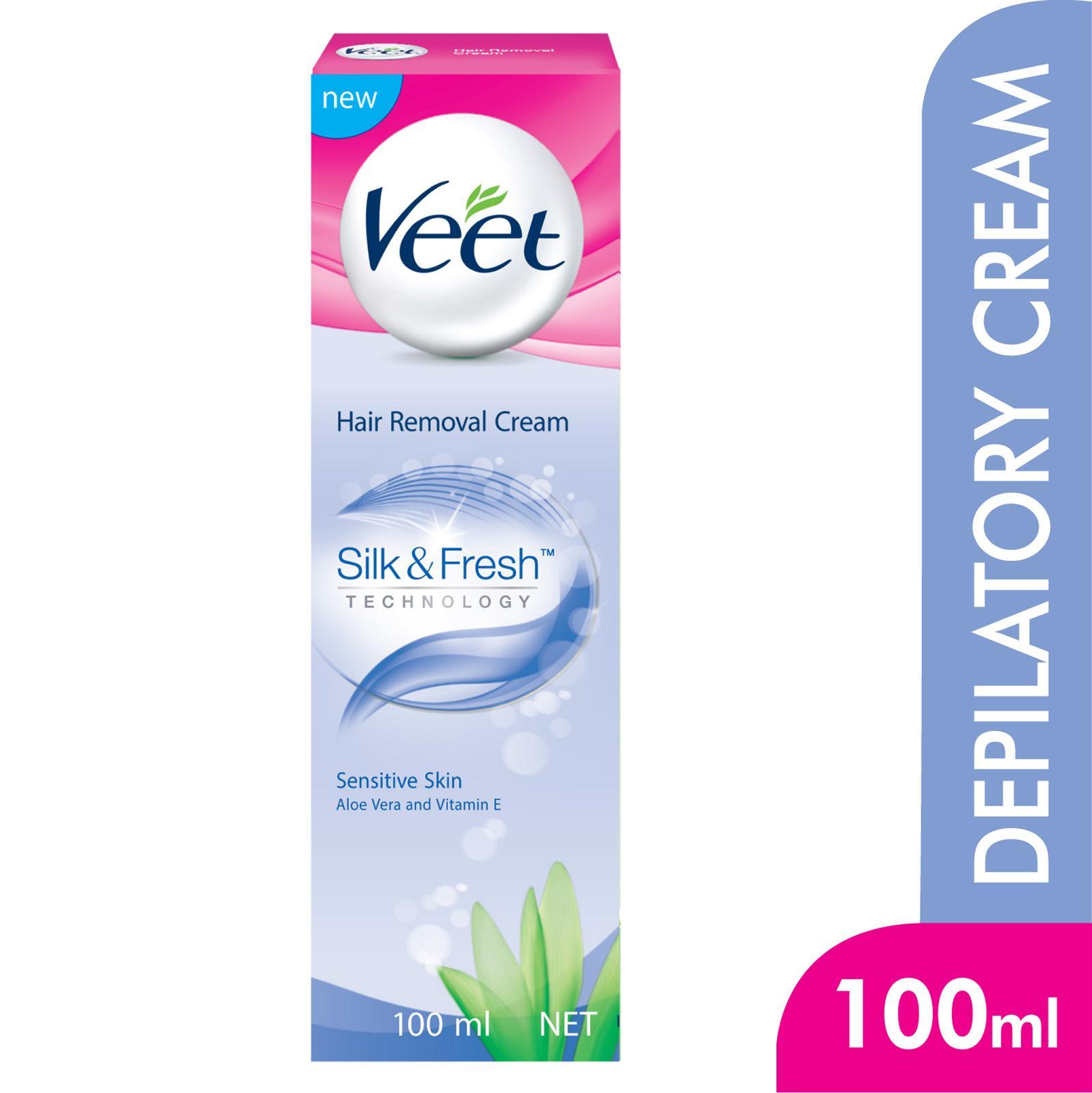 Veet In-Shower Hair Removal Cream Sensitive, 150ml