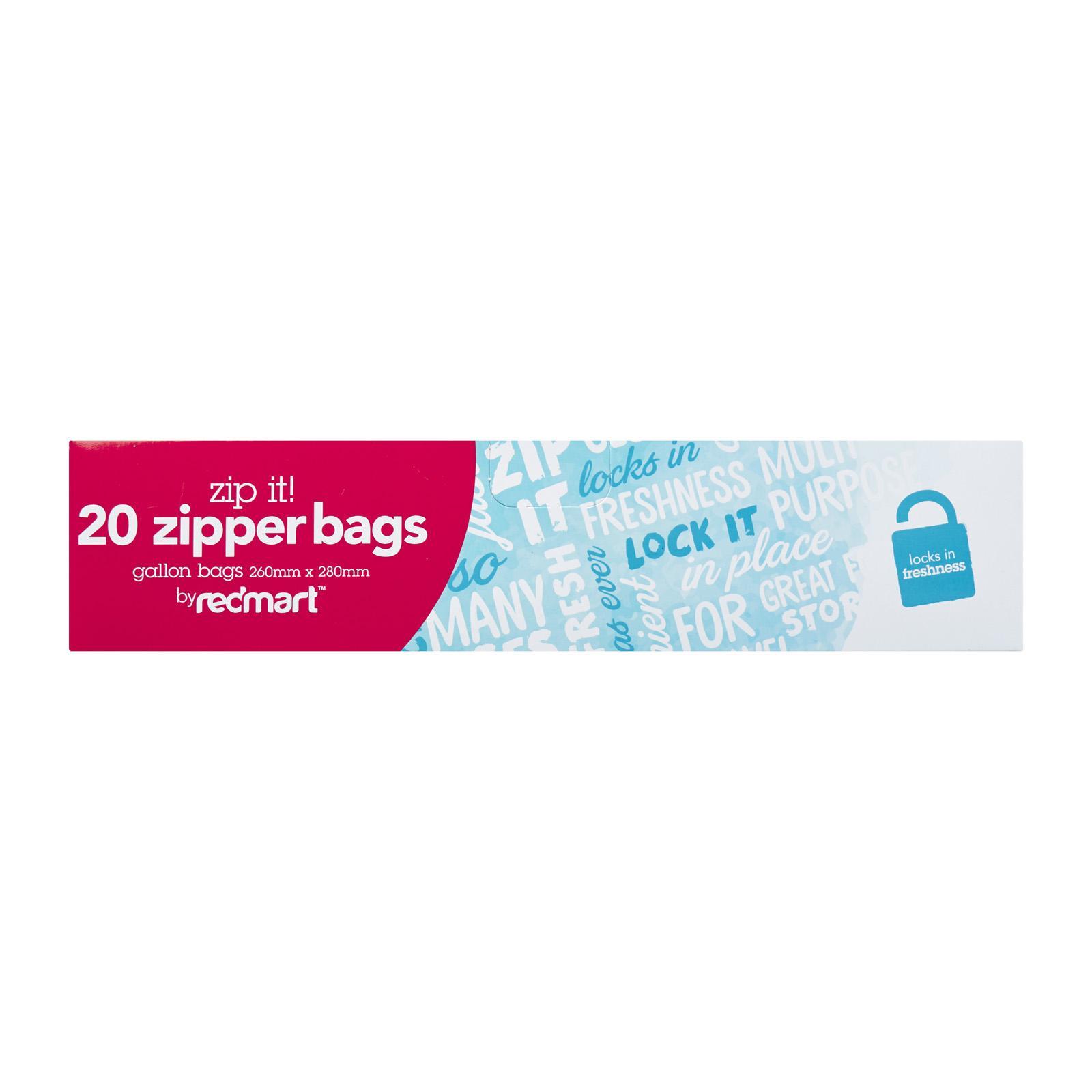 Redmart 20 Gallon Medium Zipper Bags By Redmart.