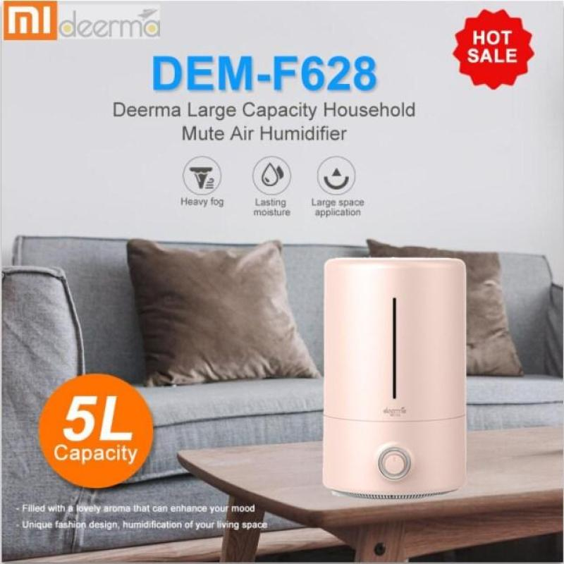 Original Xiaomi Deerma F628 F628S 5L Air Humidifier Large Capacity Household Mute Ultrasonic Air Humidifier Purifying Humidifier Aroma Home Built-in Aromatherapy Box Singapore