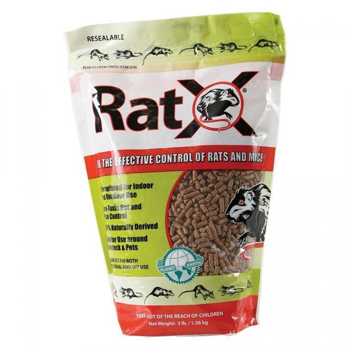 Rat X Rodenticide Pellet 1.36kg