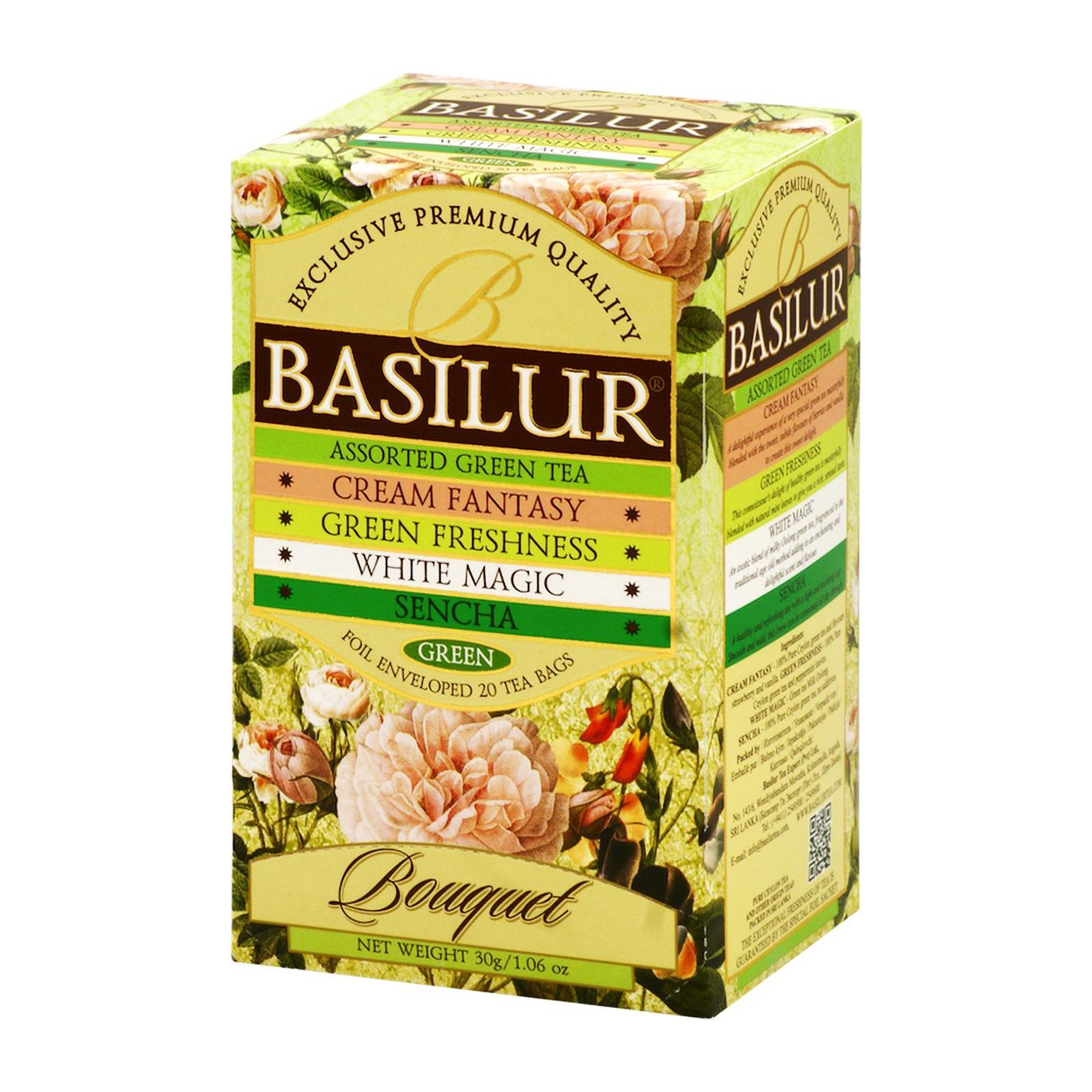 Basilur Tea Bouquet Assorted Green Tea