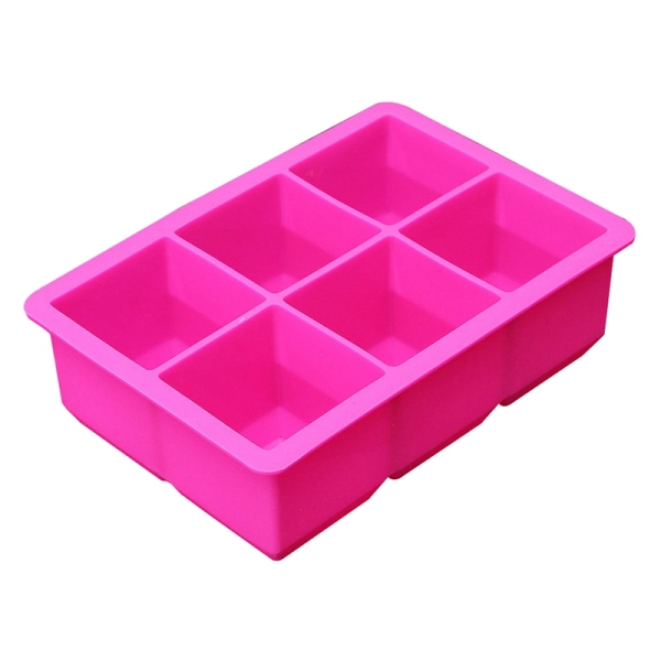 Bảng giá Silicone 6-Cavity Large Square Ice Pudding Jelly Soap Maker Mold Mould Tray Tool Điện máy Pico
