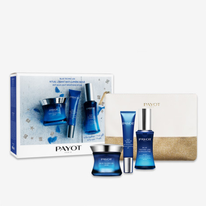 Buy PAYOT Blue Techni Liss Anti-blue Light Smoothing Ritual Set (1 x Blue Techni Liss Jour Face Cream 50ml + 1 x Blue Techni Liss Regard Eye Cream 15ml + 1 x Blue Techni Liss Concentre Serum 30ml) Singapore