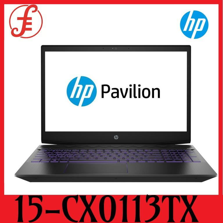 HP Pavilion 15-CX0113TX i7-8750H Processor 8GB RAM NVIDIA GeForce GTX1050 4GB GDDR5 256GB SSD + 1TB HDD  (15-CX0113TX)