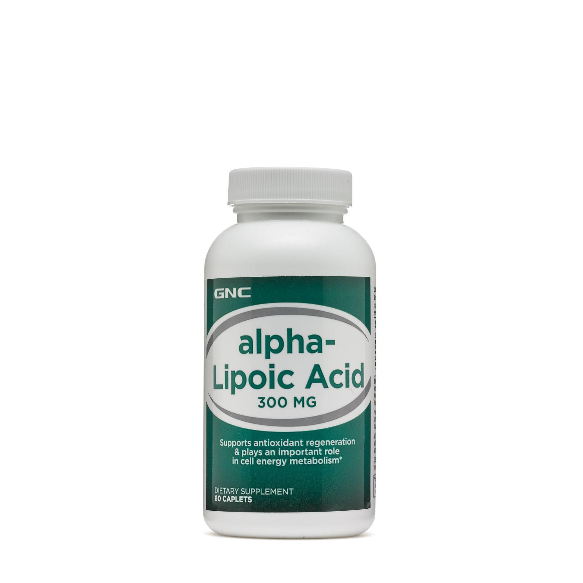 Gnc Alpha Lipoic Acid 300mg 60 Caplets Expiry 2020 By Qq Wellness.
