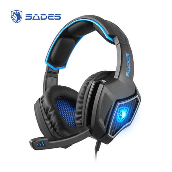 SADES Spirit Wolf 7.1 Gaming Headset with Microphone USB Headphones for PC/PS4/Mac/Mic