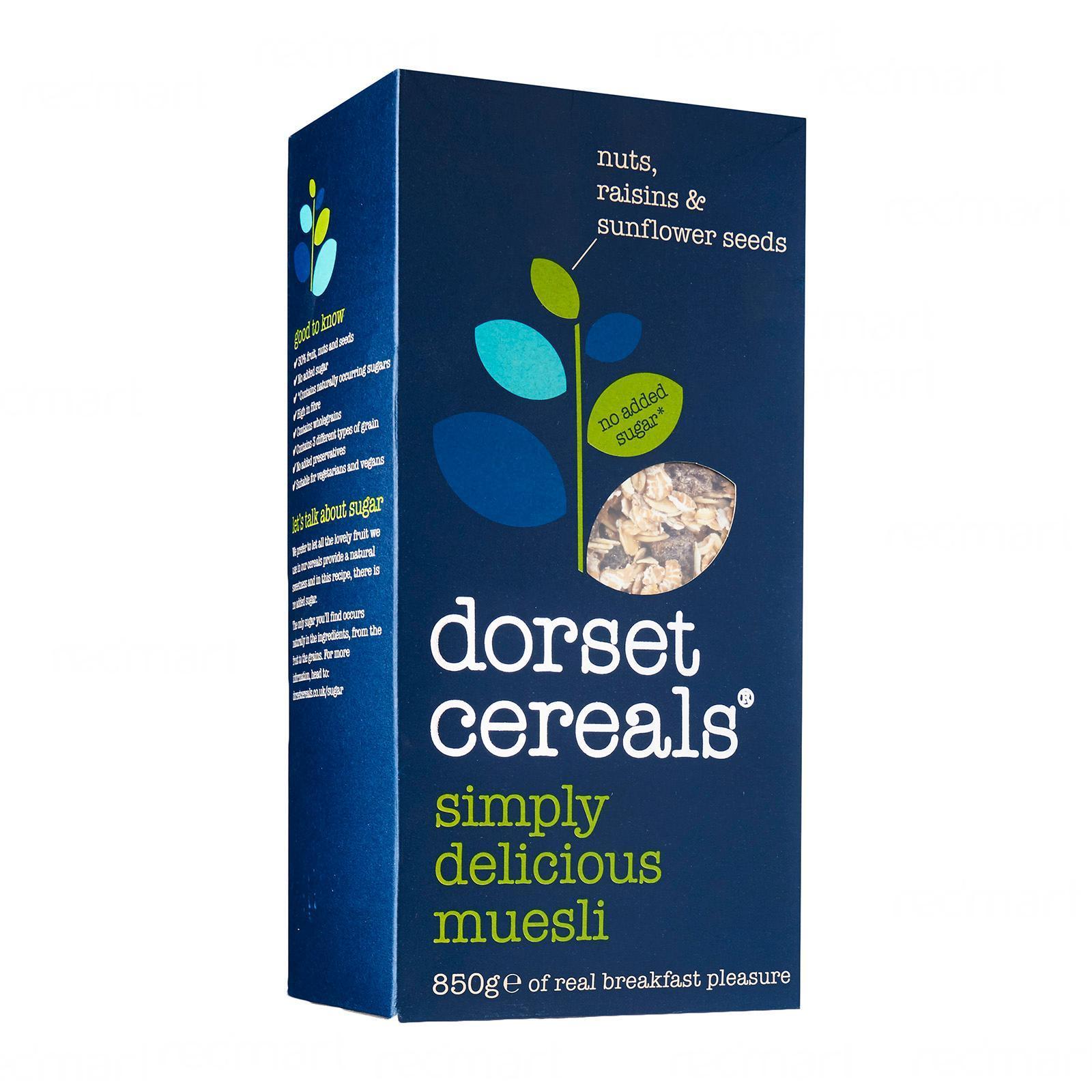 Dorset Cereals Simply Delicious Muesli By Redmart.