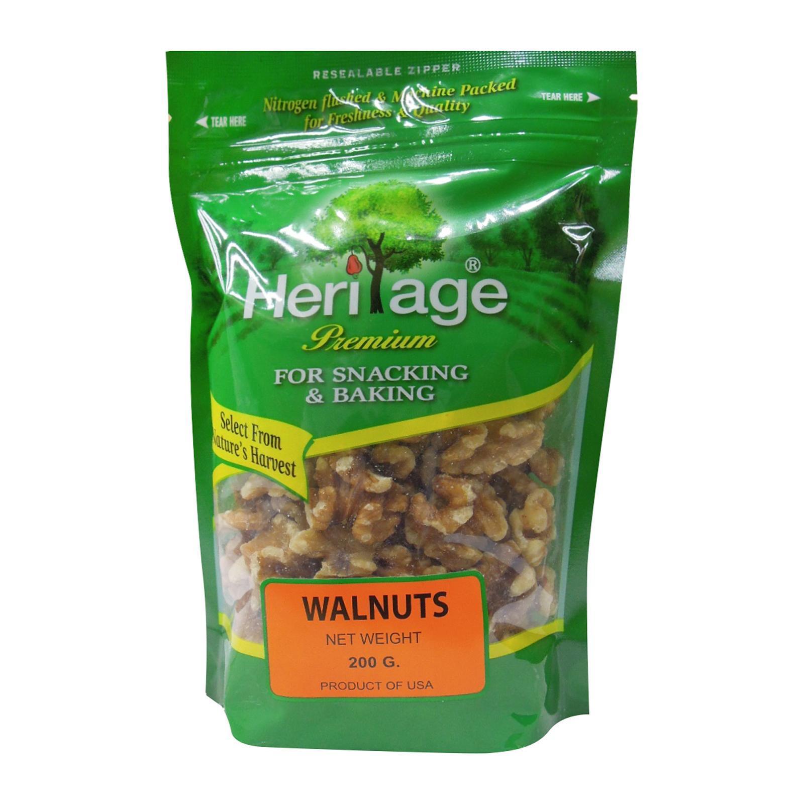 Heritage Raw Walnuts Nuts