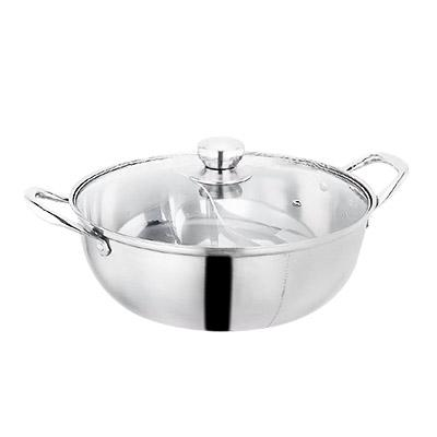Jiji (304 Premium Stainless Steel Ultra Big Dual Layer Steamboat Pot) / Steamboat Pot / Cooking Ware / Kitchen Ware / Pot / (sg) By Jiji.