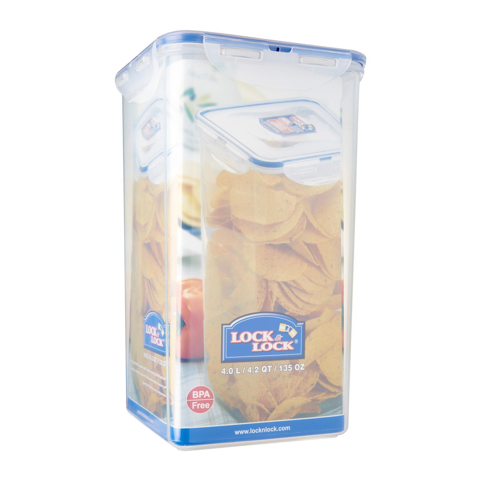 Lock & Lock Square Classic Food Container 4.0L
