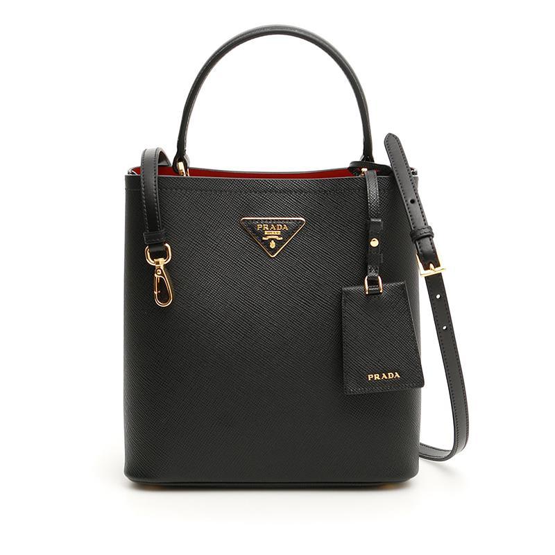 4f8a63af9ac8 NEW ARRIVAL PRADA Double Medium Bag 2019 Spring Summer Collection Black  1BA212