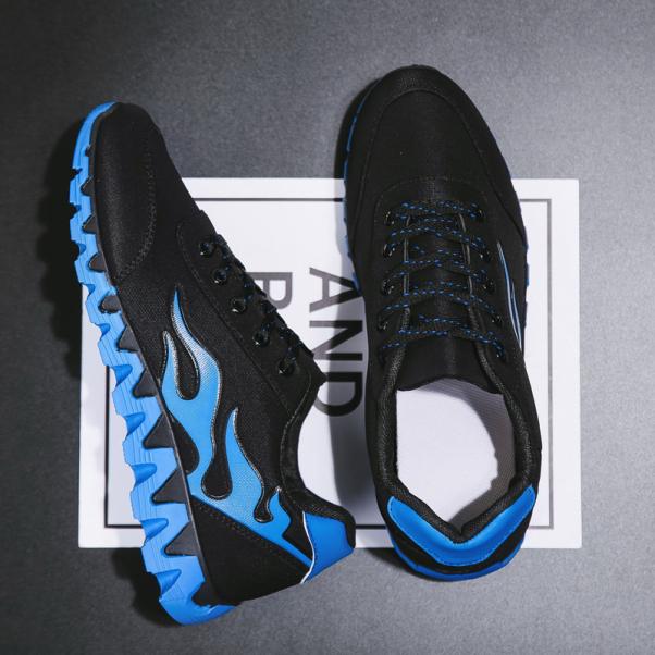 2020 Mùa Thu Mẫu Mới Giầy Thể Thao Nam Giày Lười Phiên Bản Hàn Quốc Thủy Triều Forrest Gump Giầy Chạy Bộ Giày Đế Bằng Giày Cổ Thấp Giày Vải giá rẻ