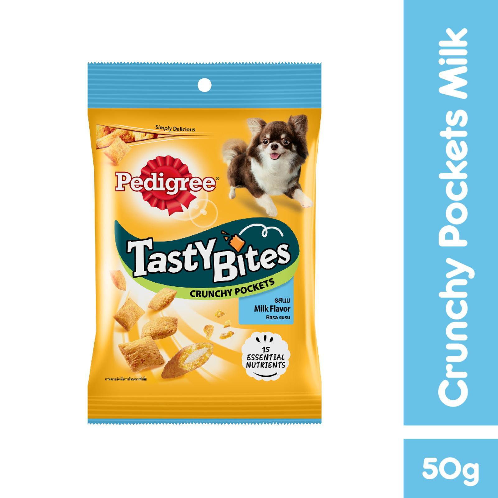 Pedigree Tasty Bites Crunchy Pockets Milk