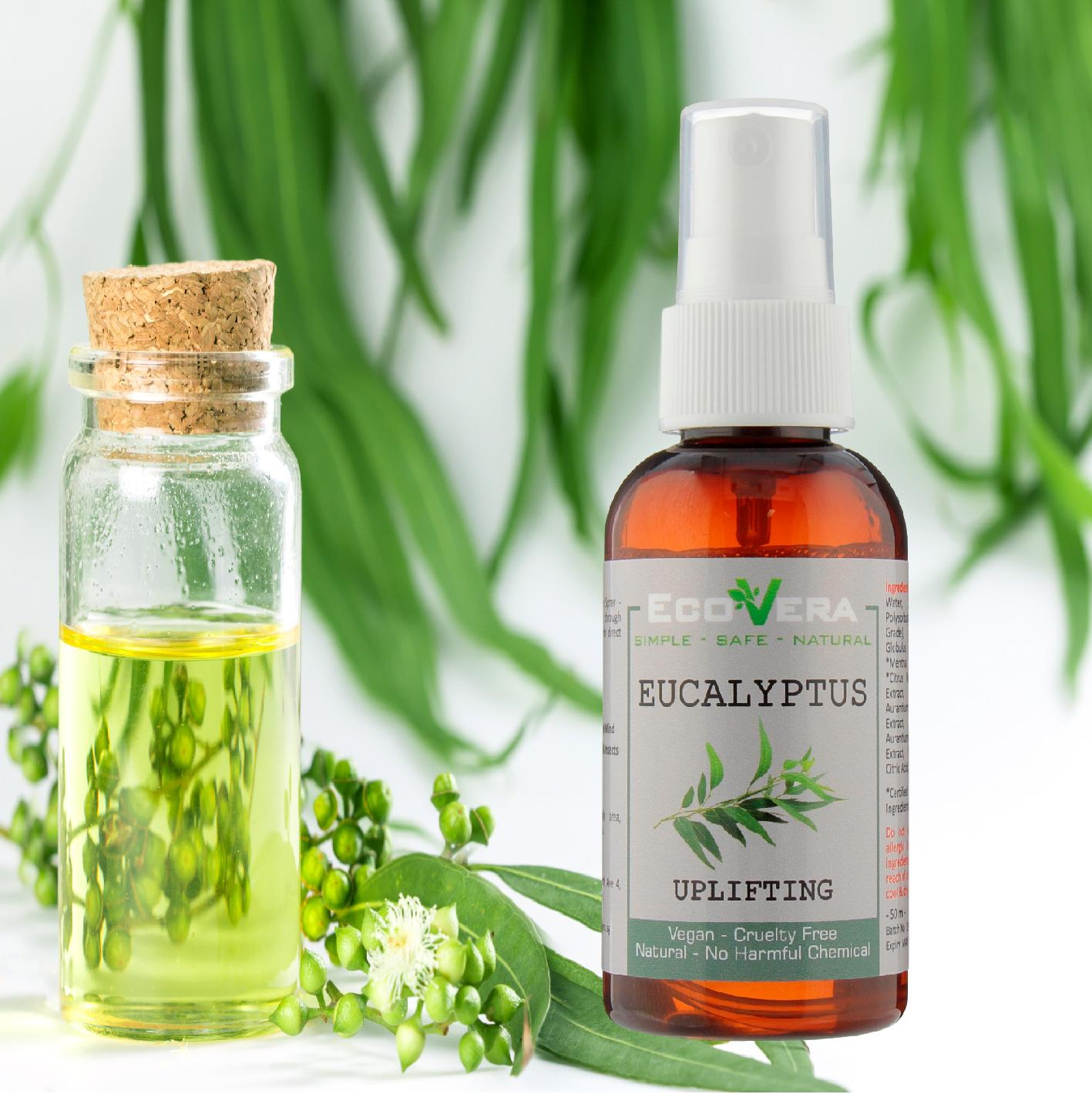 Pillow Spray - Eucalyptus Essential Oil - Antimicrobial