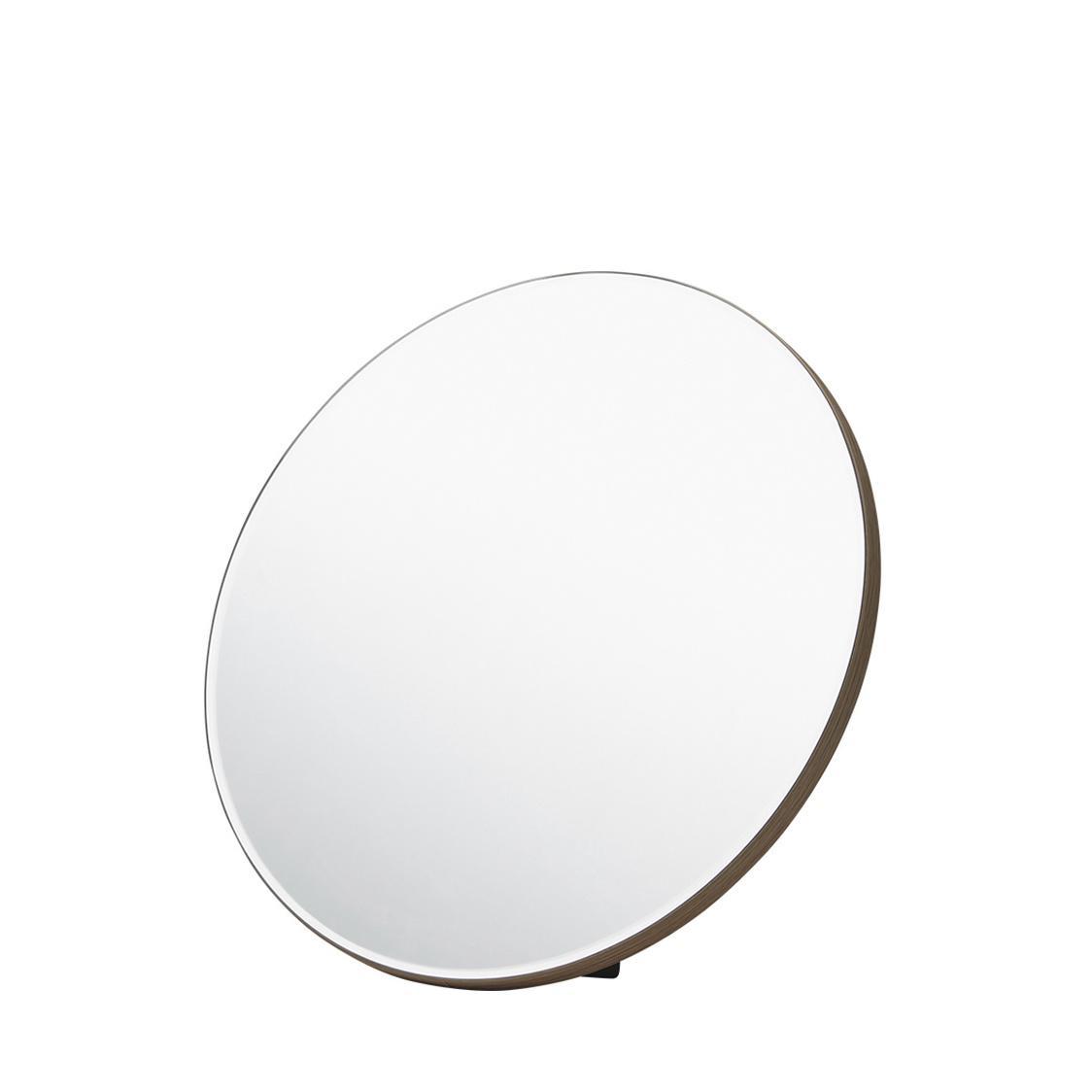 Iloom  Glen Studio Round Wooden Mirror Hspa104-Ncc
