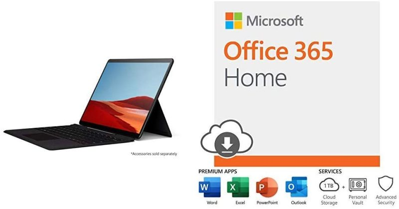 New Microsoft Surface Pro X – 13 Touch-Screen – Microsoft SQ1-16GB Memory - 256GB Solid State Drive