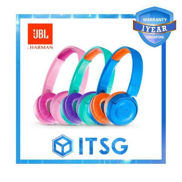 JBL JR300BT Kids Wireless On-Ear Headphones Singapore