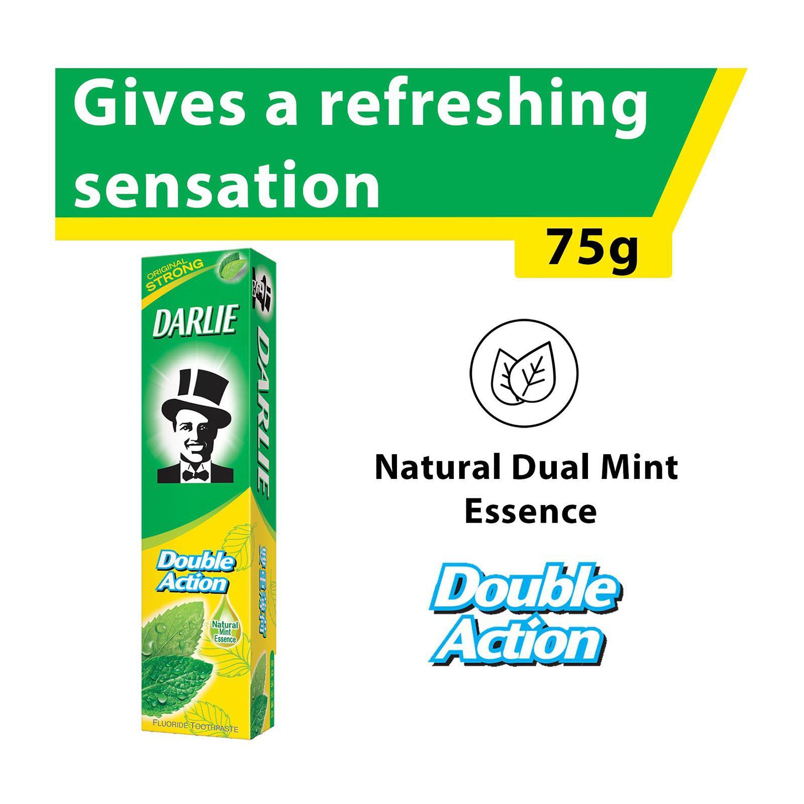 Darlie Double Action Toothpaste (Original Strong Mint) - Travel Sample Trial