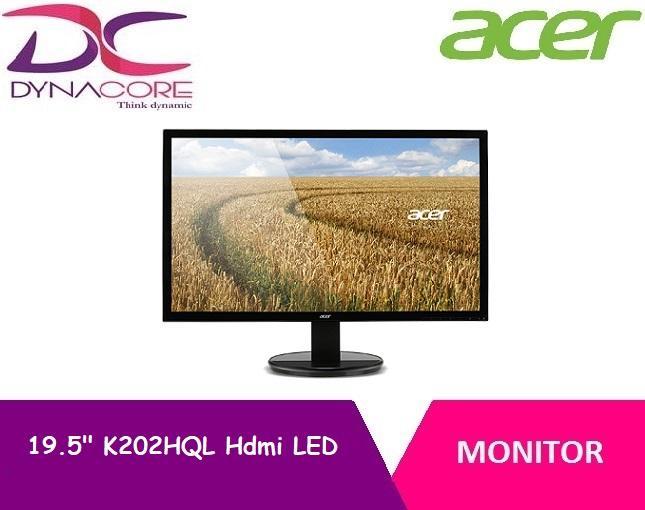 DYNACORE - Acer 19.5 Inch K202HQL Hdmi LED Monitor (1yr)
