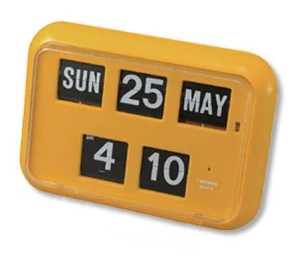 Twemco Flip Clock (QD-35, 4 colours)
