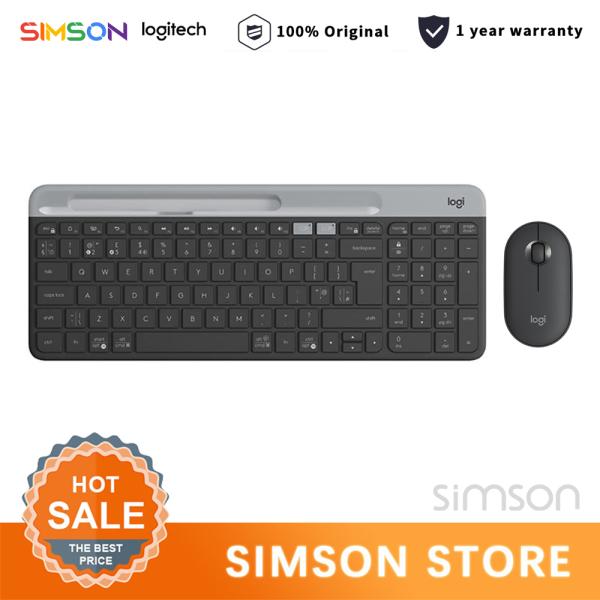 Logitech K580 Wireless Bluetooth Keyboard And M350 Pebble Mouse Combo/Set Dual Mode 2.4G/Bluetooth Unifying Keyboard USB/Bluetooth Mouse Singapore