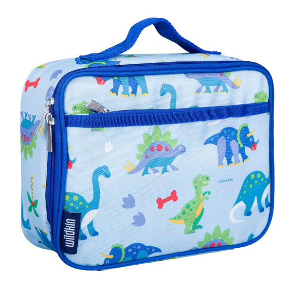 Wildkin Olive Kids Dinosaur Land Insulated Lunch Box Bag