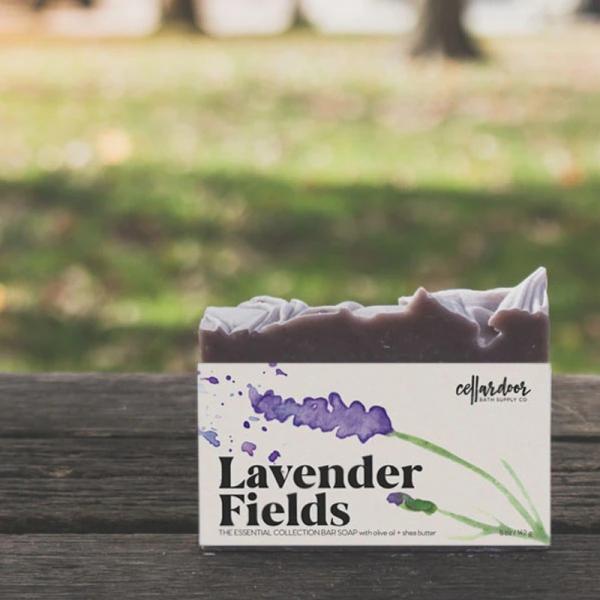 Buy Lavender Fields Bar Soap by Cellar Door Bath Supply Co. Singapore