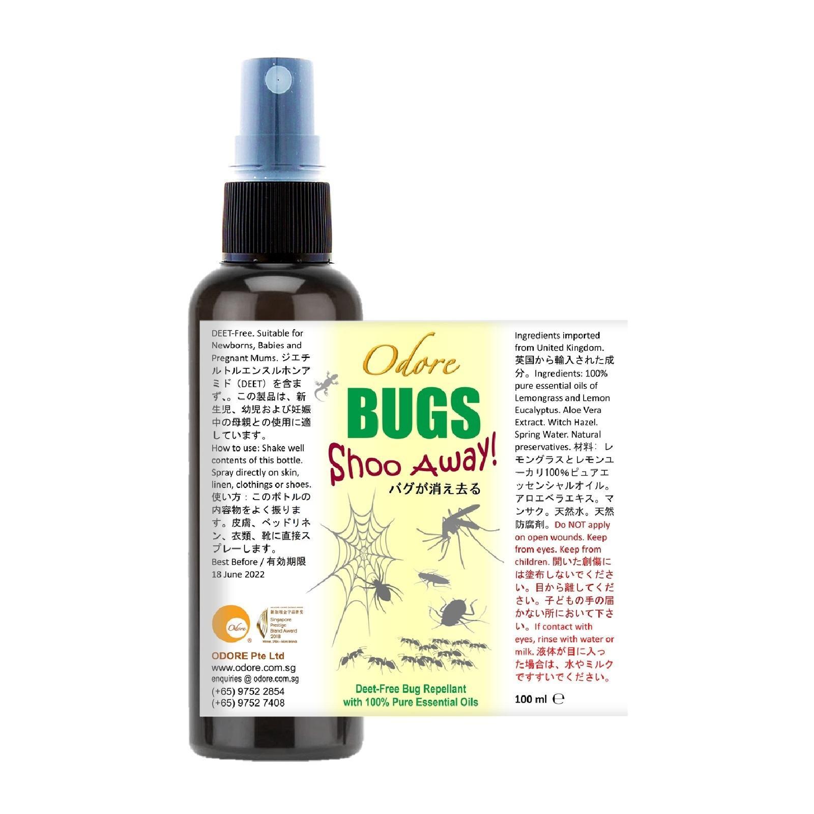 ODORE Bugs Shoo Away! (Nett 100 ml)