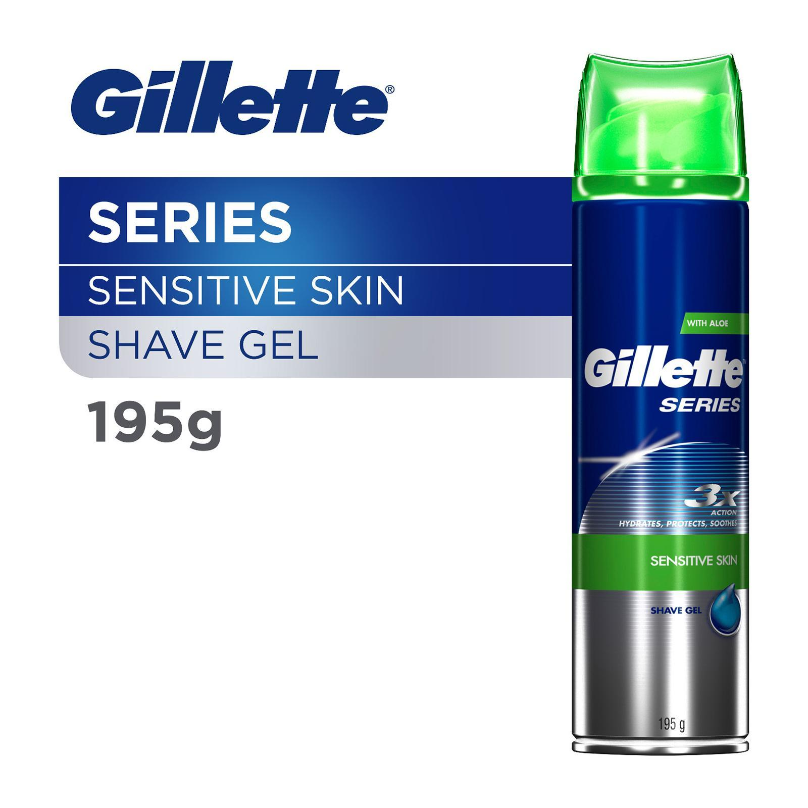 Gillette Series Sensitive Skin Shave Gel