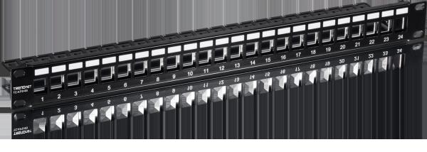 TRENDNET 24-port Cat6 Shielded 1U Patch Panel