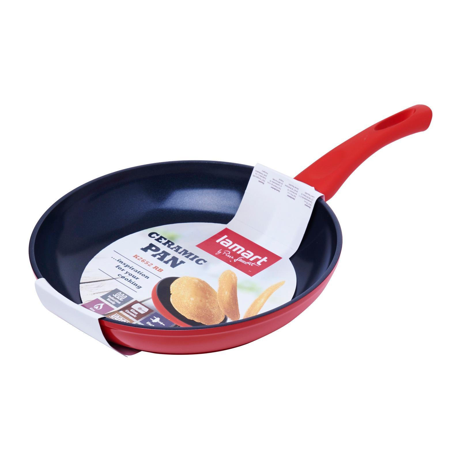Lamart Induction Ready Ceramic Fry Pan 26/5.2Cm