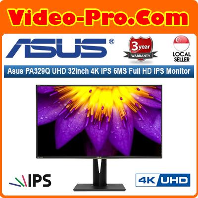 Asus PA329Q UHD 32inch 16:9 4K IPS 6MS Full HD IPS Monitor w/Speaker