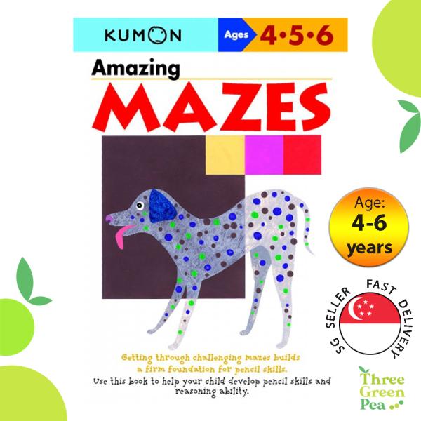 Kumon Basic Skills Workbooks - Amazing Mazes