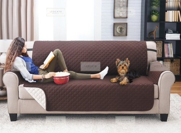 SINGAPORE SELLER*Sofa Cover Protector Professional Non Slip Quilted Pet Sofa Protector Cover, Wear Resistant and Waterproof Furniture Protector