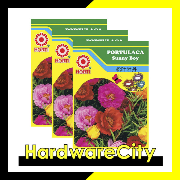 Horti Flower Seeds Portulaca Sunny Boy (3 PACKETS) [HWC-070]