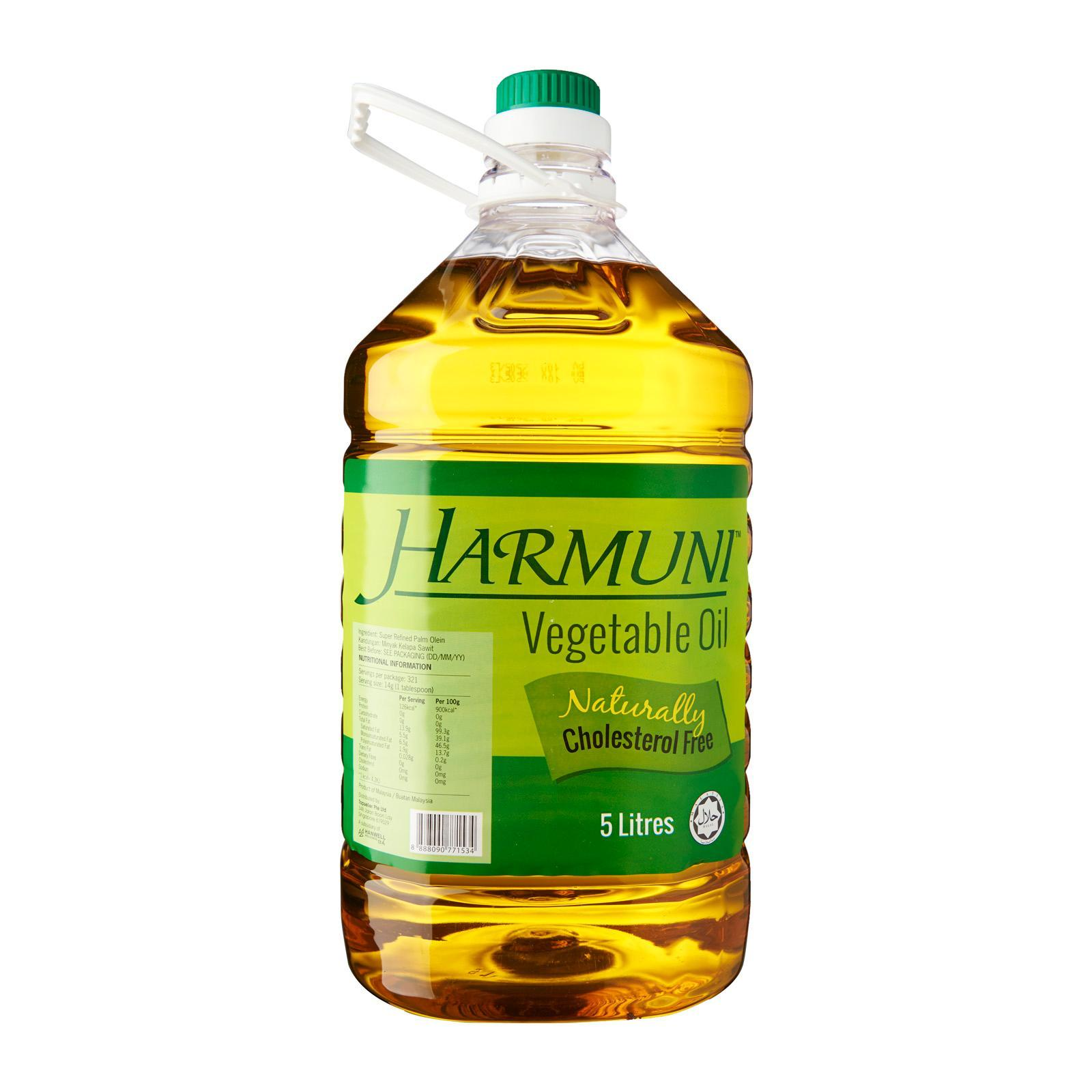 Harmuni Vegetable Oil 5L