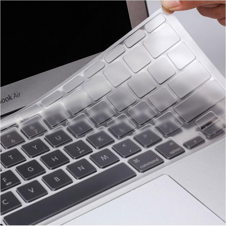 Ultra Thin Clear 0.1mm TPU Waterproof Clear Keyboard Cover Skin Protector for Apple MacBook New Pro 13 without TouchBar (A1708) / Retina 12 (A1534) Laptops Accessories