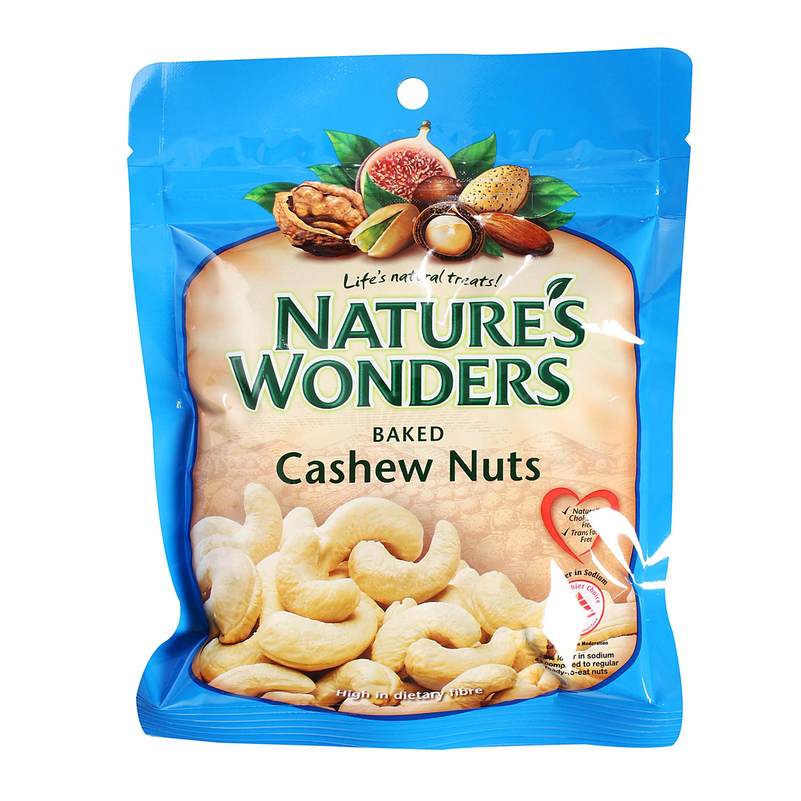 Nature's Wonders Baked Cashew Nuts