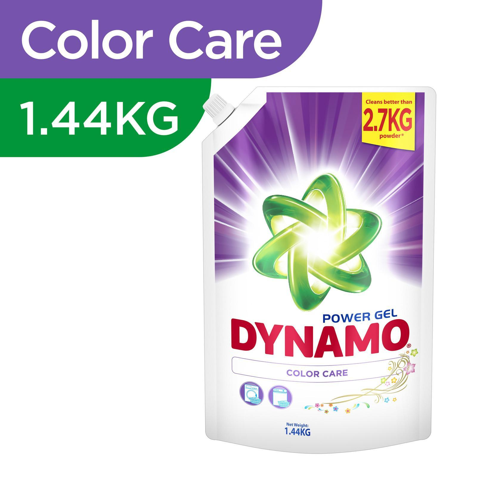 Dynamo Power Gel Color Care Laundry Detergent Refill