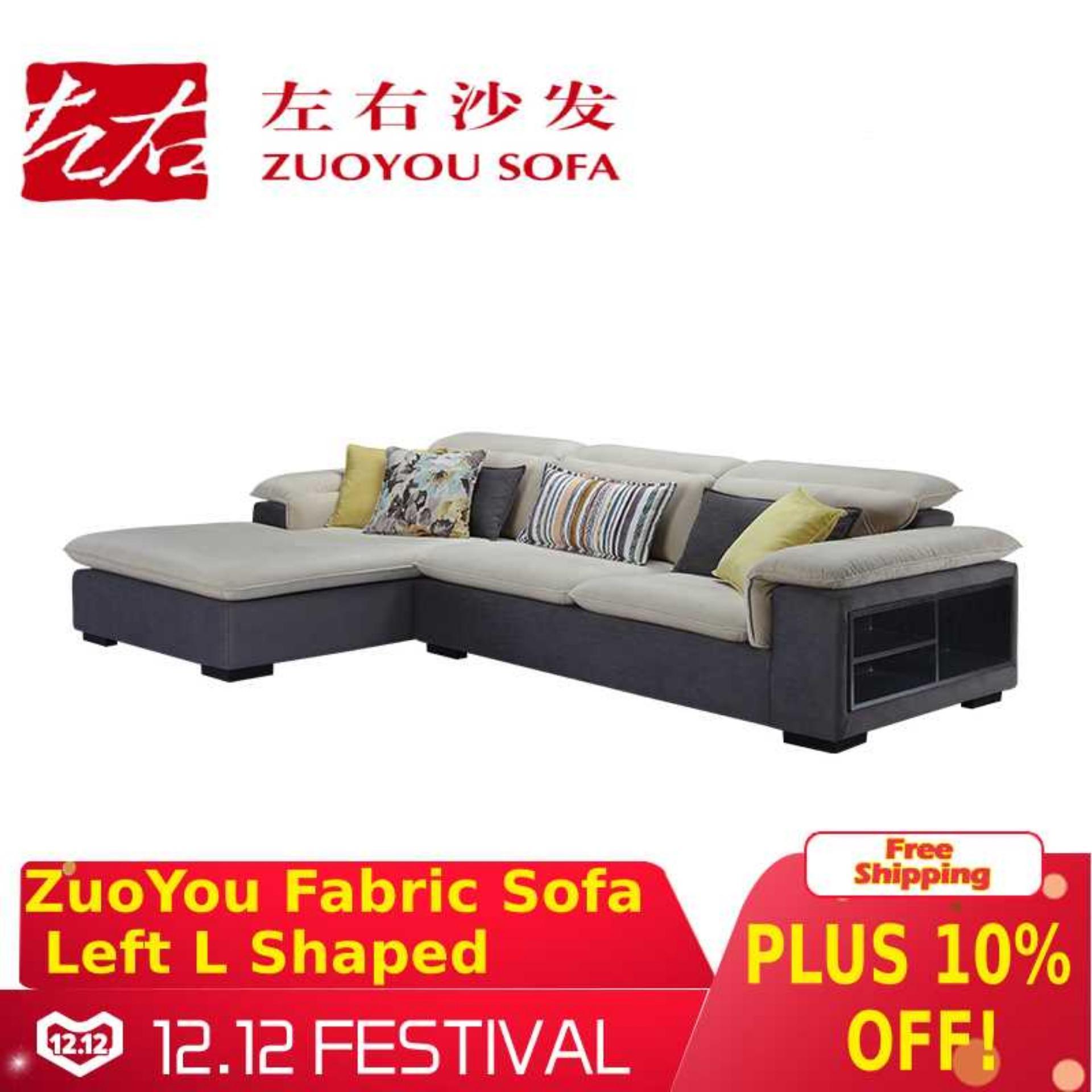 ZuoYou Fabric Sofa - Left L Shaped