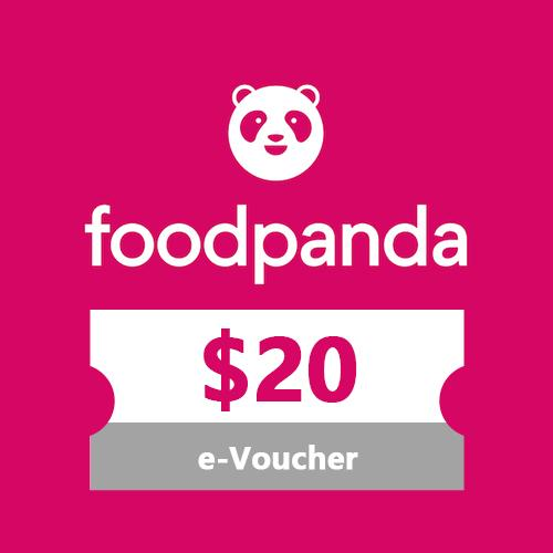 [Foodpanda] $20 Voucher/SGD20 Off/Promo Code/E-Voucher/Gift Card/Gift  Voucher ~Food Delivery~Food Discounts~Food Promotion~$20 off your meals~