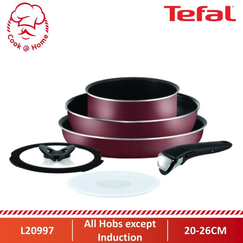 Tefal Ingenio Essential Red 6pc set (Non-IH) L20997 Singapore