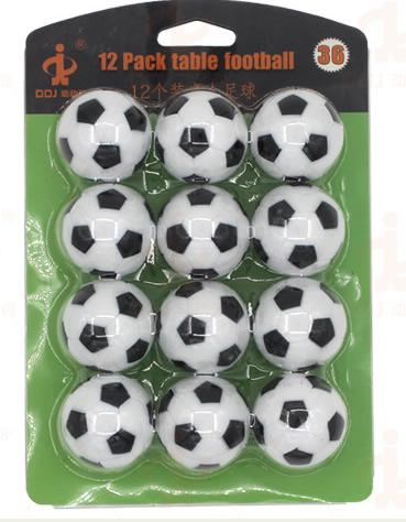 36mm Foosball Soccer Table Spare Ball Replacements