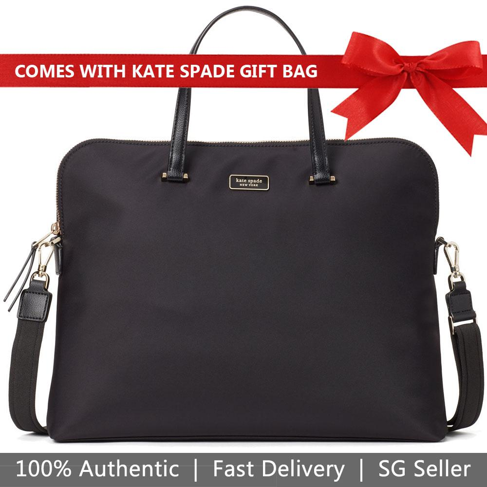 Kate Spade Dawn Laptop Bag Laptop case Black # WKRU5910