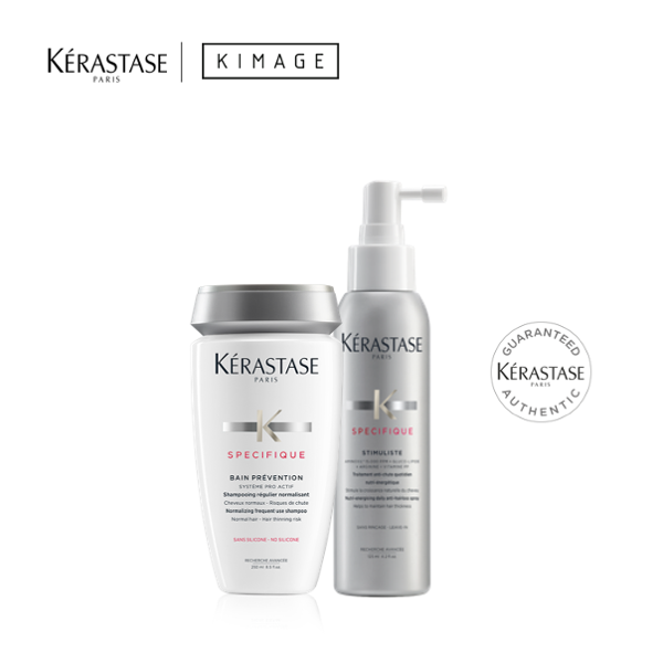 Buy Anti-Hair Loss Kit Prevention Shampoo + Stimuliste Spray Set To Reduce Hair Loss and Anti-Hairfall Hair Loss Shampoo by Kerastase Singapore