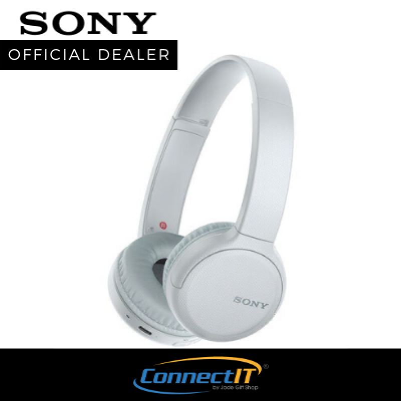 Sony WH-CH510 Bluetooth Wireless On-Ear Foldable Headphones For Smartphones With NFC And Up to 35 Hours Playback Time 1 Year Local Warranty Singapore